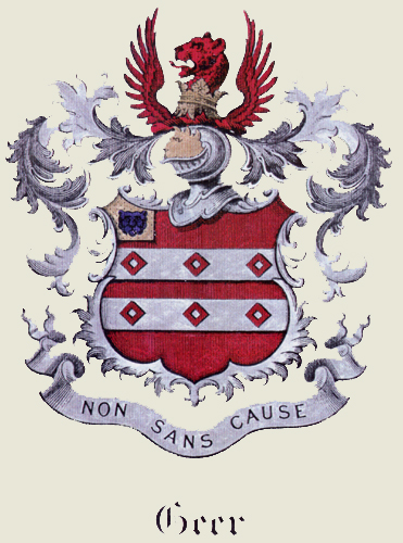 Geer Coat-of-Arms